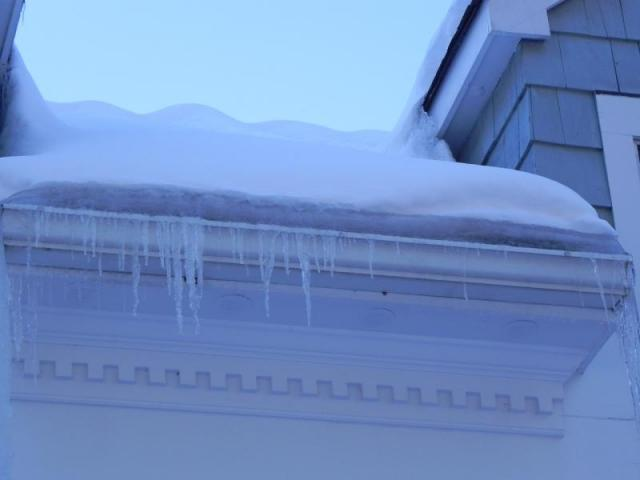 More Ice Dams